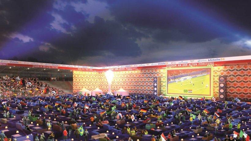 Die Alte Frsterei Wird Berlins Grsstes WM Wohnzimmer