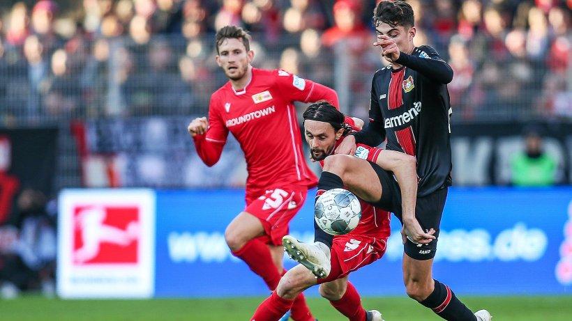 1. FC Union unterliegt Leverkusen mit 2 : 3
