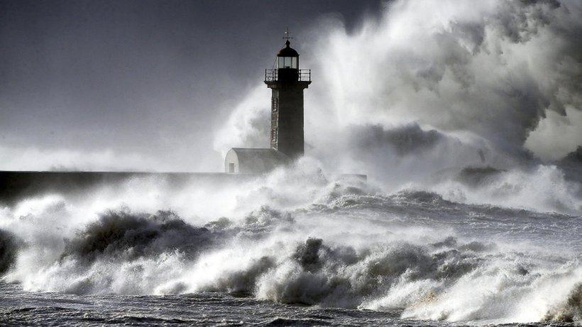 Sturm In Portugal