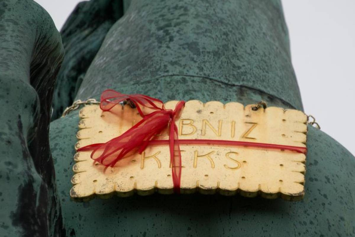 1e5b4d9ed8 Goldener Bahlsen-Keks taucht wieder auf - Vermischtes - Berliner Morgenpost