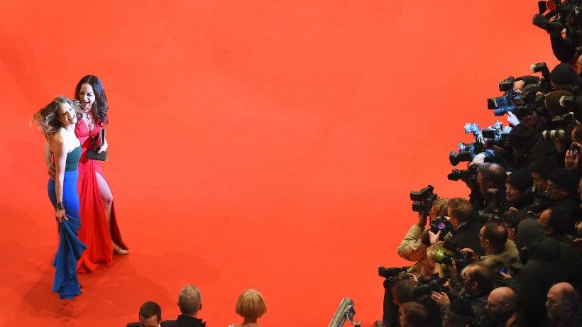Roter Teppich der Berlinale  modische Gründe und Sünde