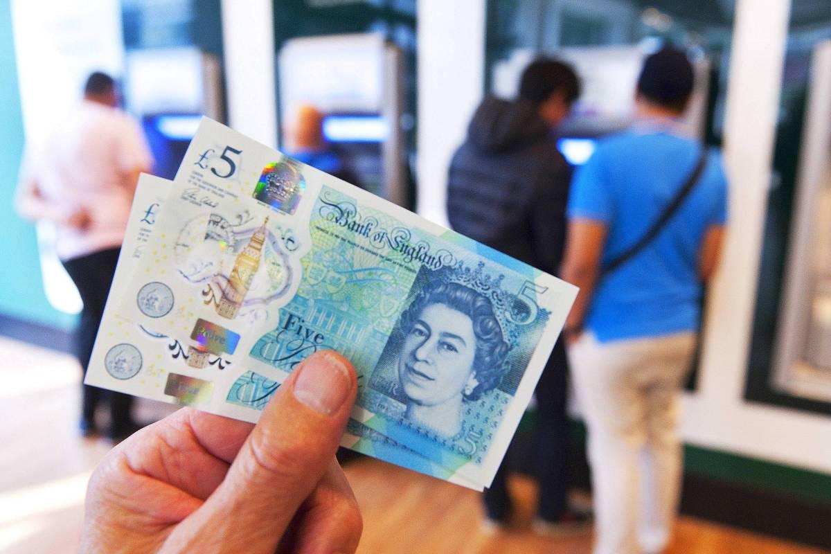Wie viel pfund sind ein euro