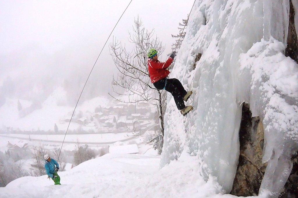 Klettergurt Eisklettern : Von wegen horror kälte u jetzt geht s zum eisklettern