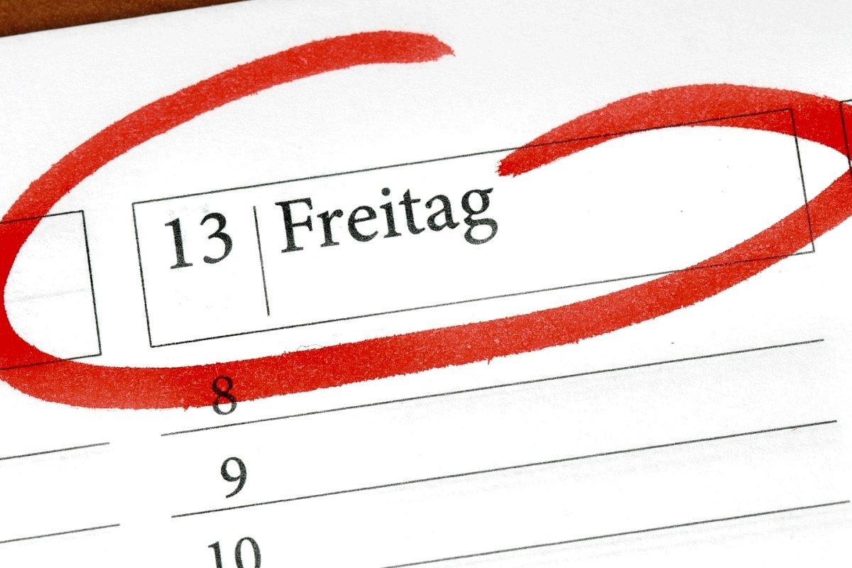 Freitag der 13. ein Pechtag? Ausnahmen bestätigen die Regel