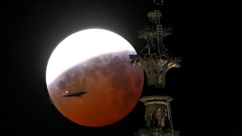 Mondfinsternis Und Blutmond Das Sind Die Besten Fotos Vom Himmel
