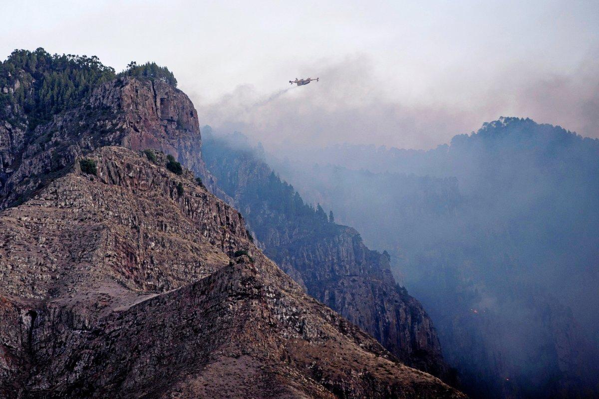 Gran Canaria: Feuer unter Kontrolle - Große Sorge bleibt bestehen