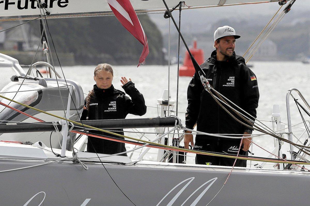 Gretas Jacht: Skipper berichtet von heftigem Zusammenstoß