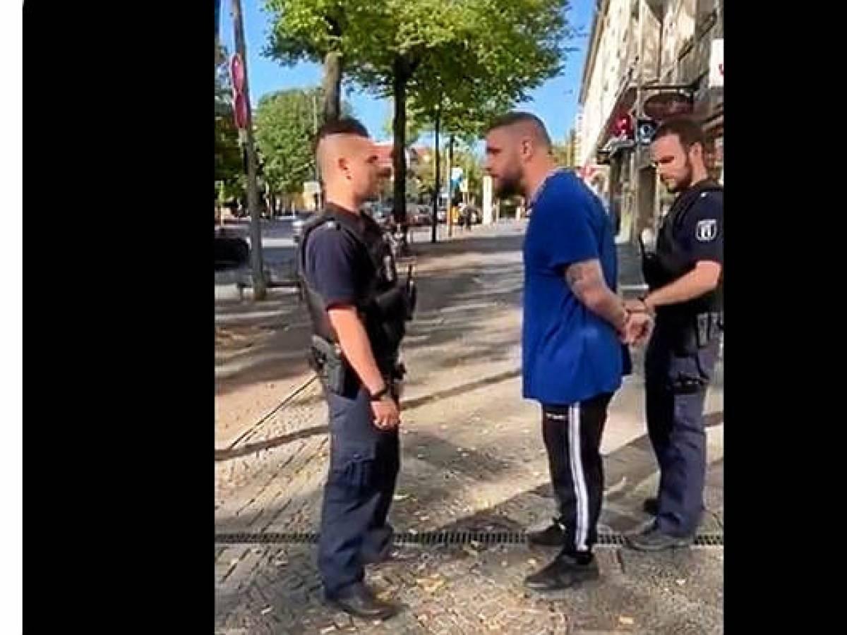 Erwischt Tori Polizei Schwarz BPOLI EBB: