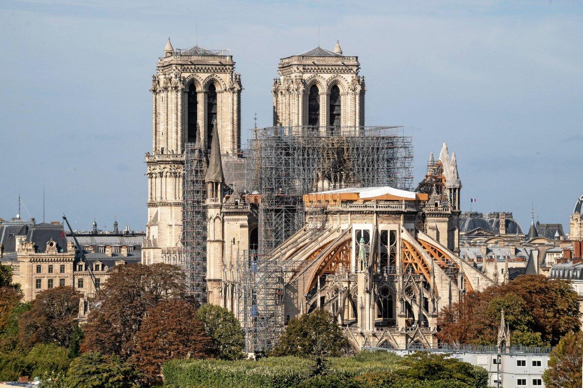 Warum Notre-Dame im Herbst der Einsturz droht