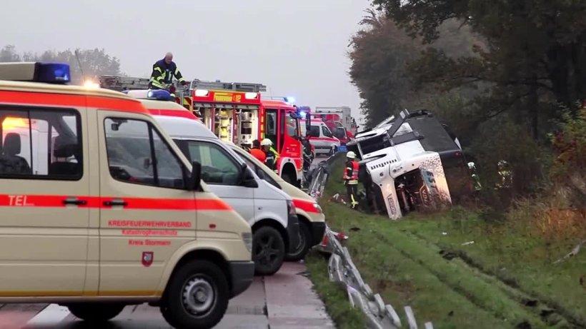 Hamburg Busunfall