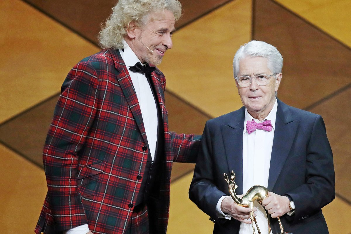 Bambi 2019: Frank Elstner geehrt - Publikumspreis für Max Giesinger