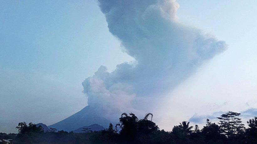 Vulkanausbruch auf Java - warum der Merapi so gefährlich ist