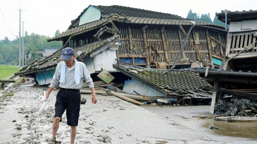 Japan: Mindestens 44 Tote bei heftigen Unwettern