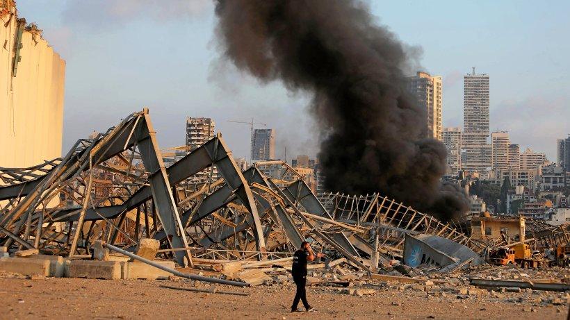 Beirut: Zahlreiche Tote und Tausende Verletzte bei schweren Explosionen
