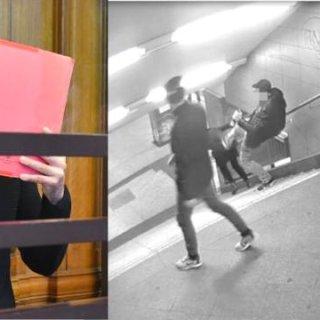 Der Angeklagte hat den Tritt am U-Bahnhof Hermannstraße zugegeben