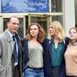 """Die Darsteller des Ermittlerteans des neuen """"Tatort""""-Krimis aus Dresden (v.l.):  Martin Brambach, Karin Hanczewski, Alwara Höfels und Jella Haase."""