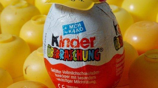 Ferrero - Überraschungsei mit Hut.