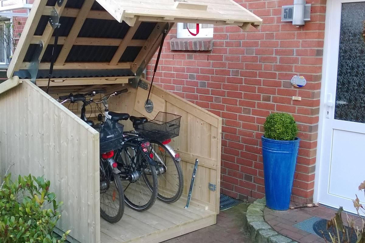 Schicke Schuppen: Mini-Garagen schützen vor Fahrrad-Dieben ...