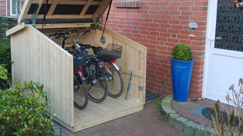 Schicke Schuppen Mini Garagen Schtzen Vor Fahrrad Dieben