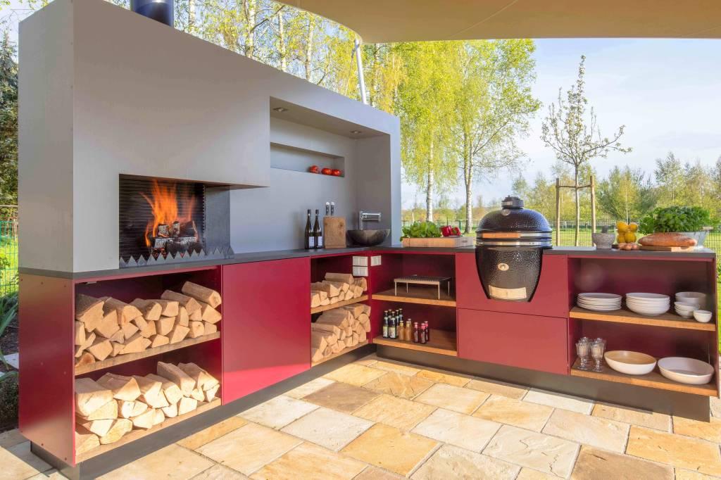 Outdoorküche Klein Verletzt : Outdoorküche u draußen grillen und kochen mit komfort wohnen