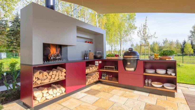 outdoork che drau en grillen und kochen mit komfort wohnen berliner morgenpost. Black Bedroom Furniture Sets. Home Design Ideas